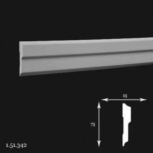 Brau Poliuretan 75x15x2000 mm 1.51.342 Gaudi