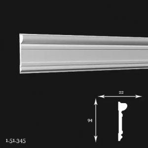 Brau Poliuretan 94x22x2000 mm 1.51.345 Gaudi
