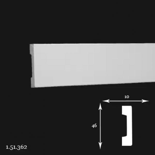 Brau Poliuretan 46x10x2000 mm 1.51.362 Gaudi