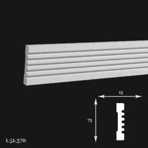 Brau Poliuretan 75x15x2000 mm 1.51.370 Gaudi