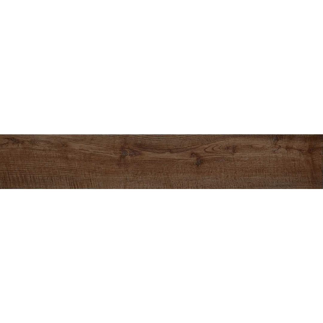 Gresie porțelanată aspect lemn Castan Maro Marazzi Treverkway MH7H 15x90 cm