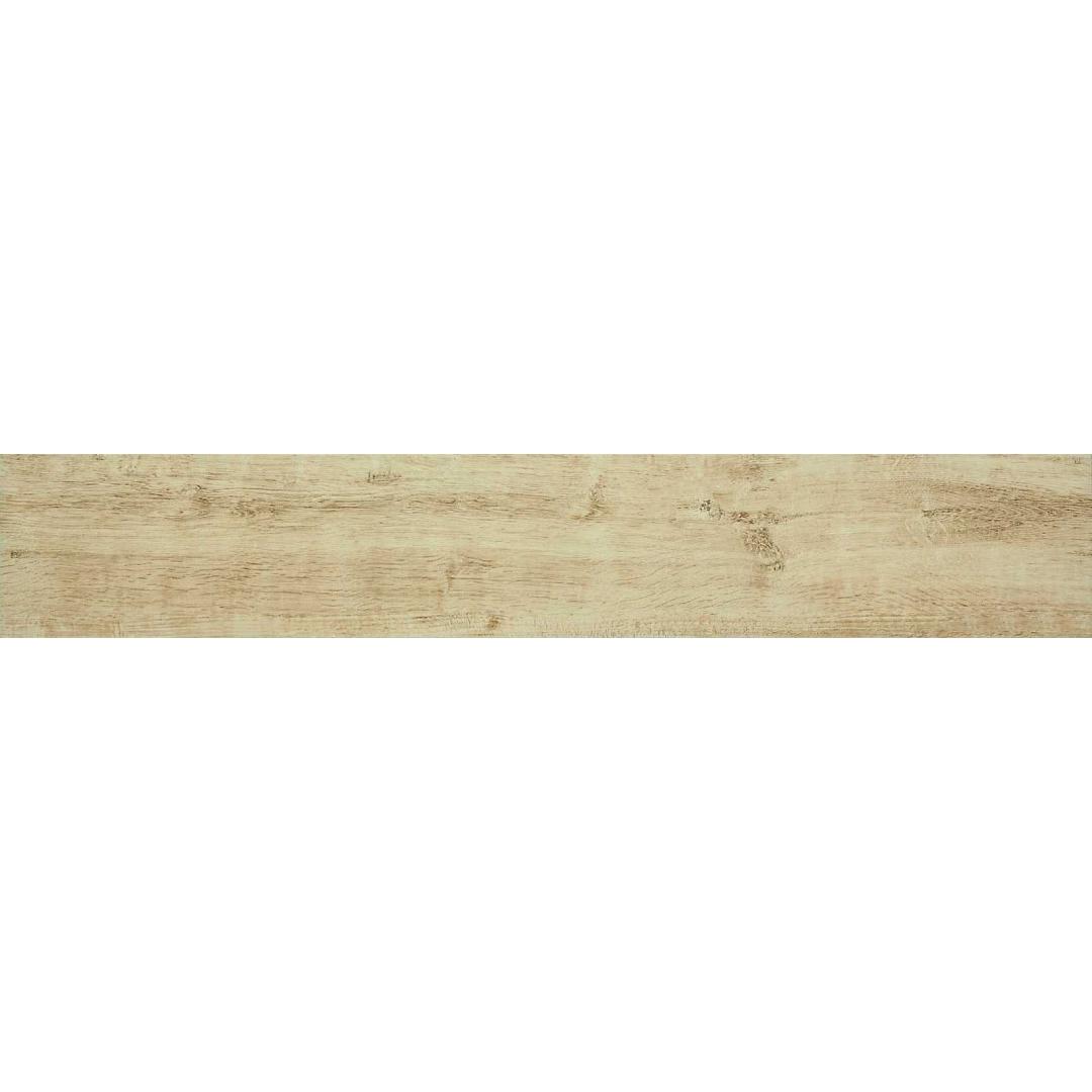 Gresie porțelanată aspect lemn Mesteacan Bej Marazzi Treverkway MH7F 15x90 cm