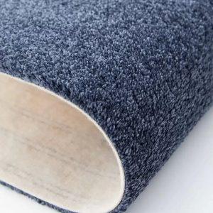 Mocheta pufoasa albastru canar pentru dormitor Lily WFB 74 Balta