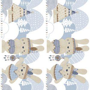 Bordura Tapet pentru copii lavabil Cristiana Massi Baby Landia 5496