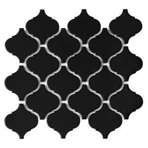 Mozaic ceramic Mini Arabesco BLACK