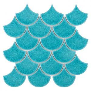 Mozaic ceramic Mini Fish Scale Bali 88