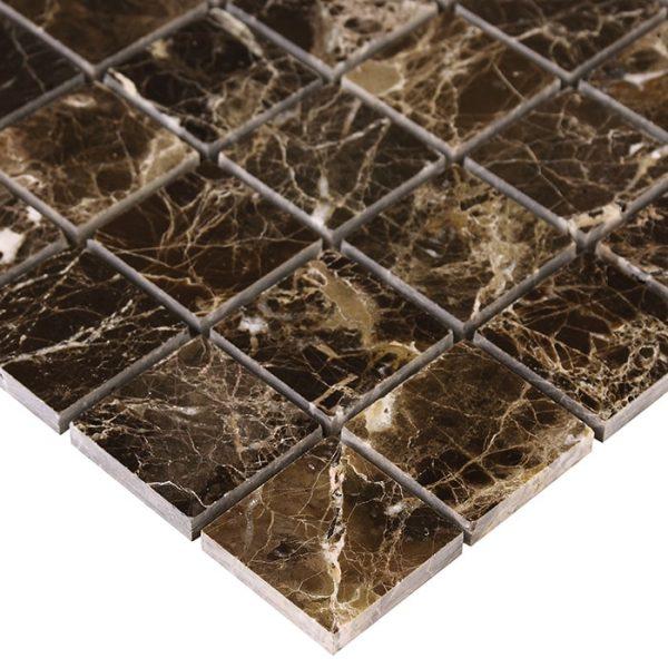 Mozaic piatra naturala Emperador 48 30,5x30,5 cm