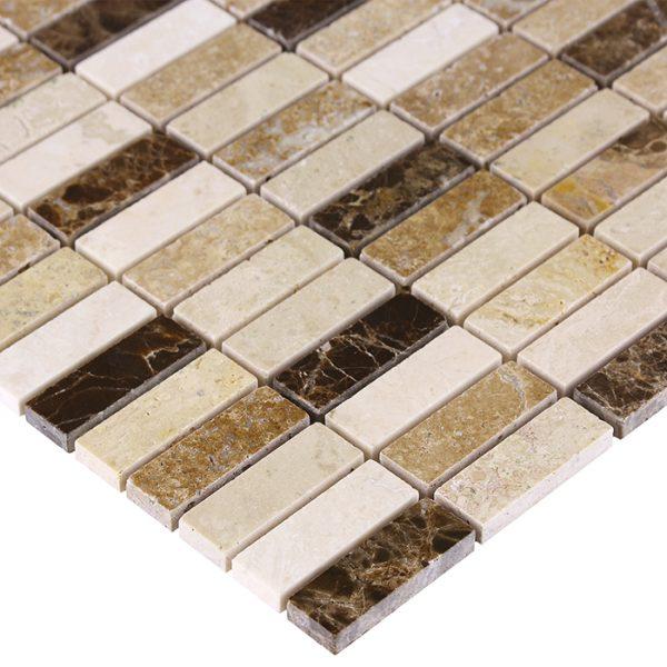 Mozaic piatra naturala Emperador Block Mix 48 30,5x30,5 cm