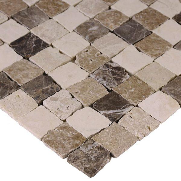Mozaic piatra naturala Travertine Bend Mix 32 Matt 30,5x30,5 cm
