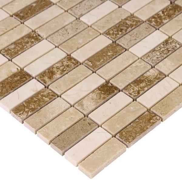 Mozaic piatra naturala Travertine Block Mix 48 30,5x30,5 cm