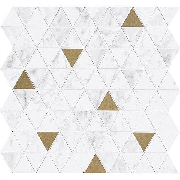 Decor Marazzi Allmarble Altissimo Sat.Mosaico Tria 40X43 M8H0