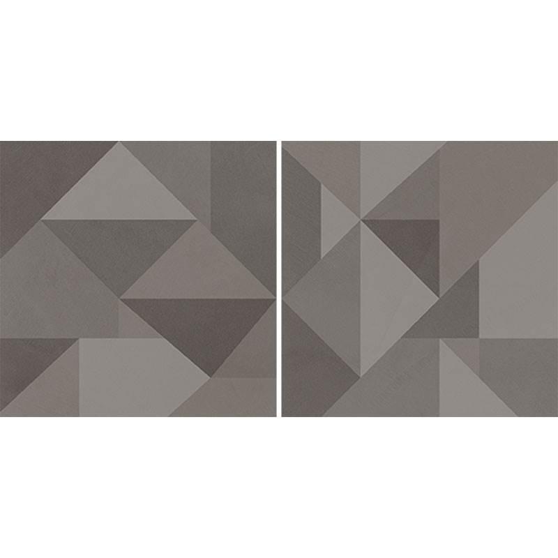 Decor Marazzi Apparel Decoro Geometria Light Grey 75X75 suprafata Mata Gri M347