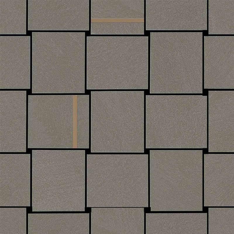 Decor Marazzi Apparel Mosaico Intreccio Oxide 30X30 suprafata Mata Maro M359