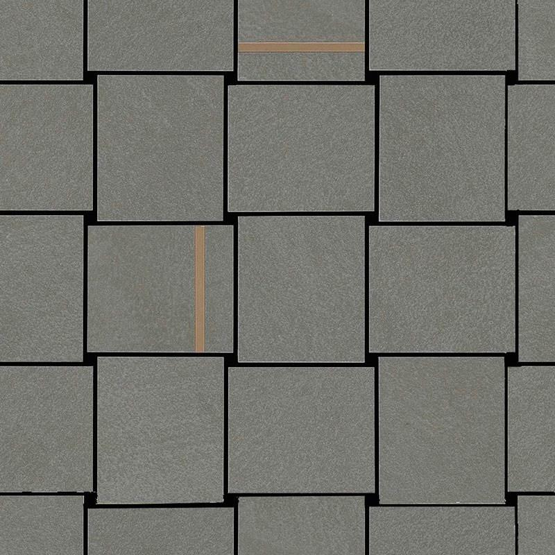 Decor Marazzi Apparel Mosaico Intreccio Stone 30X30 suprafata Mata Gri M35C
