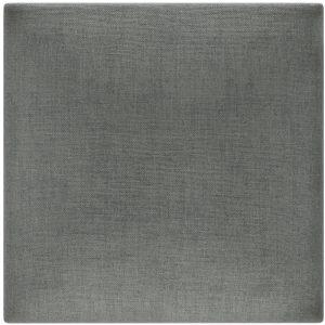 Panou decorativ tapitat pentru perete Stegu Molllis Basic 1 30x30 cm gri inchis patrat 5907762320030