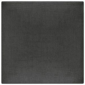 Panou decorativ tapitat perete Stegu Molllis Basic 1 30x30 cm negru patrat 5907762320016