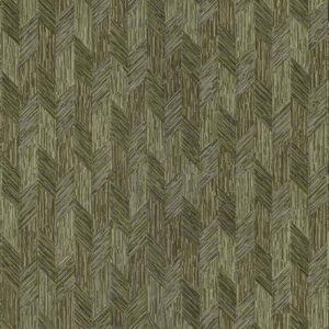 Tapet de lux verde geometric din vinil greu italian Zambaiti Trussardi 5 Z21828