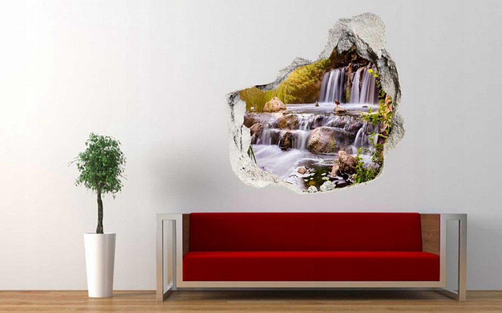 Portal autocolant de perete
