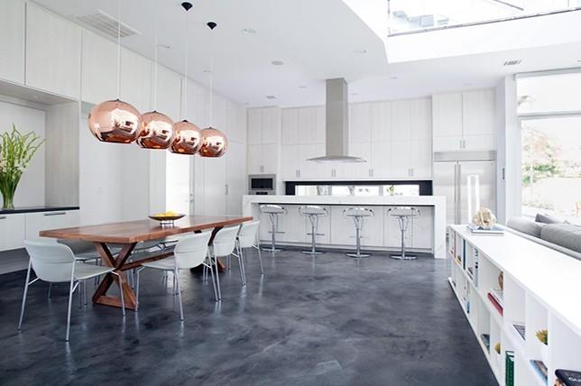 concrete Kitchen Flooring ideas 2019