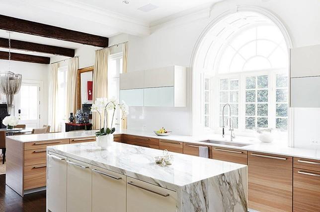 dark wood Kitchen Flooring ideas 2019