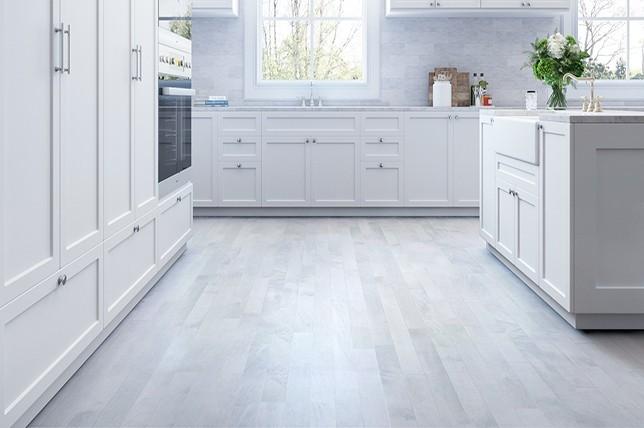 gray laminate Kitchen Flooring ideas 2019
