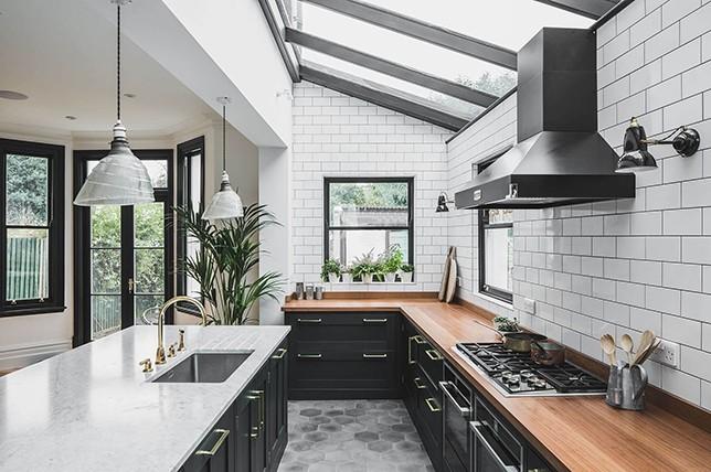 hexagonal Kitchen Flooring ideas 2019